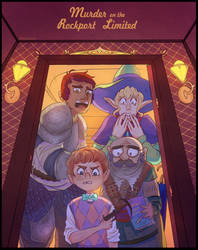 Murder on the Rockport Limited by Arkaena