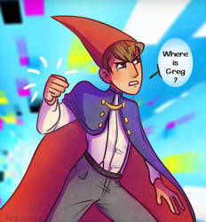Wirt, Punch? by Arkaena