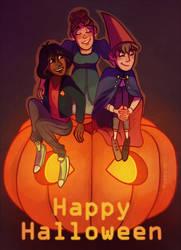 Happe Halloween by Arkaena