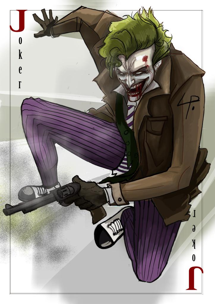 joker card by flpe