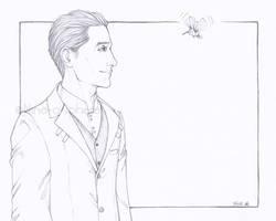 Tesla and Archimedes by Nine-O-PoppyBox