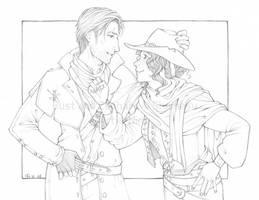 Rust and Zephalia commission by Nine-O-PoppyBox