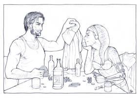 Jonas and Ra'aj - Commission