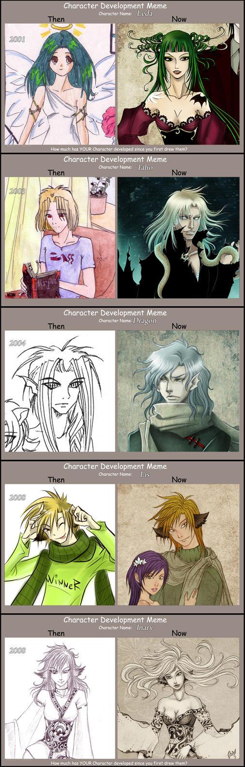Character Development meme by Kimir-Ra