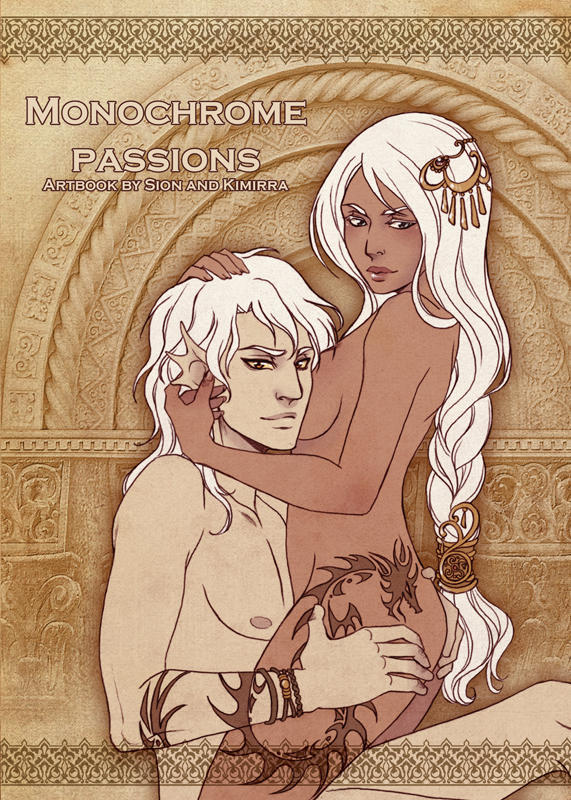 Monochrome Passions artbook cover