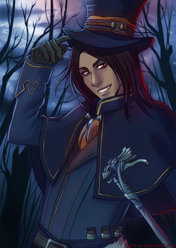 Halloween: vampire by Kimir-Ra