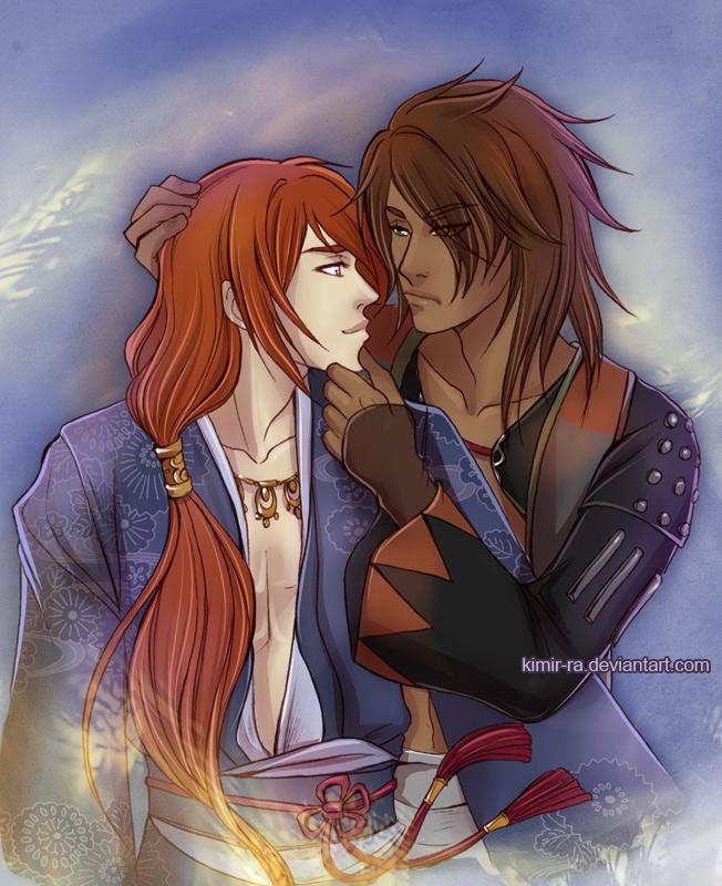Kurenai and Yuhi by Kimir-Ra