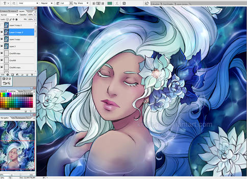 Water lily wip