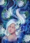 Water Lily by Kimir-Ra