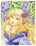 Blooming wisteria by Kimir-Ra