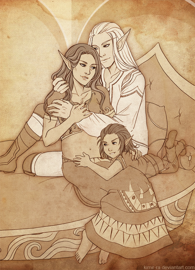 Family time by Kimir-Ra