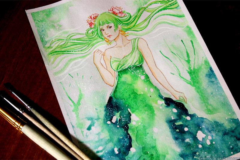 WIP: Harmony goddess by Kimir-Ra