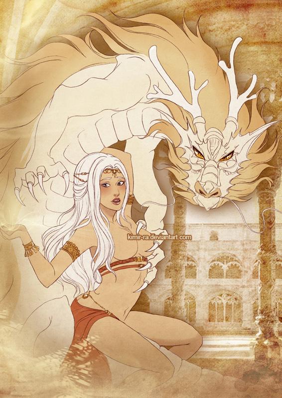 Dragon love by Kimir-Ra