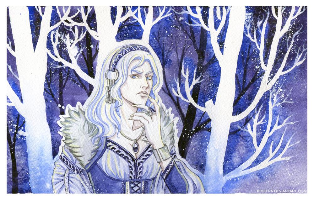Snow princess by Kimir-Ra