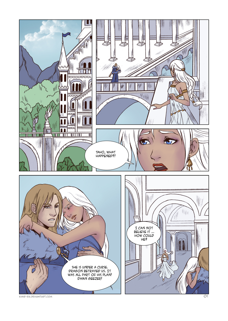 Her Mentor II: 1 page by Kimir-Ra