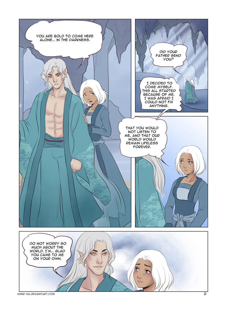 Her Mentor III: 2 page by Kimir-Ra