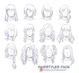 Hairstyles practice