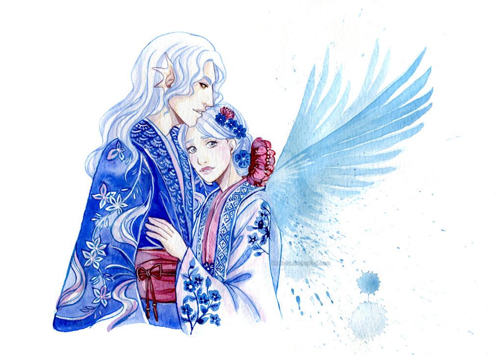 Beloved angel by Kimir-Ra