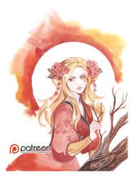 Fire spirit by Kimir-Ra