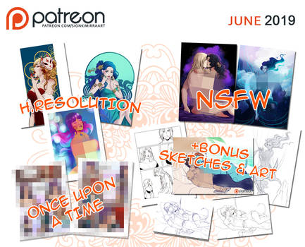 Patreon June rewards