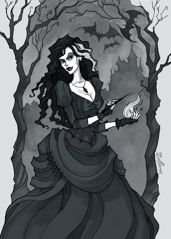 Bellatrix Lestrange by IrenHorrors