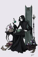 Severus by IrenHorrors