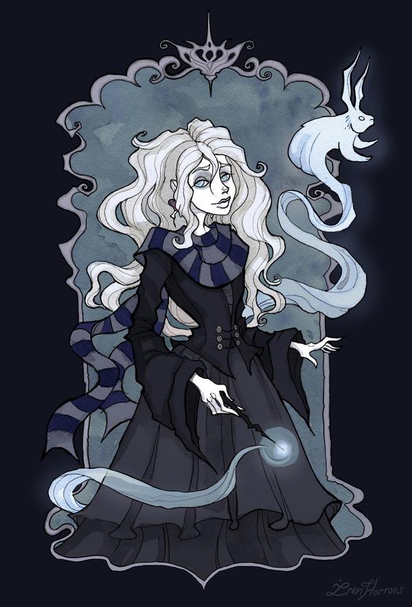 Luna Lovegood By Irenhorrors On Deviantart