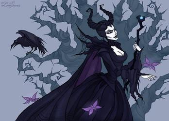 Maleficent by IrenHorrors