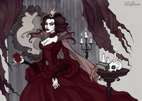 The Evil Queen by IrenHorrors