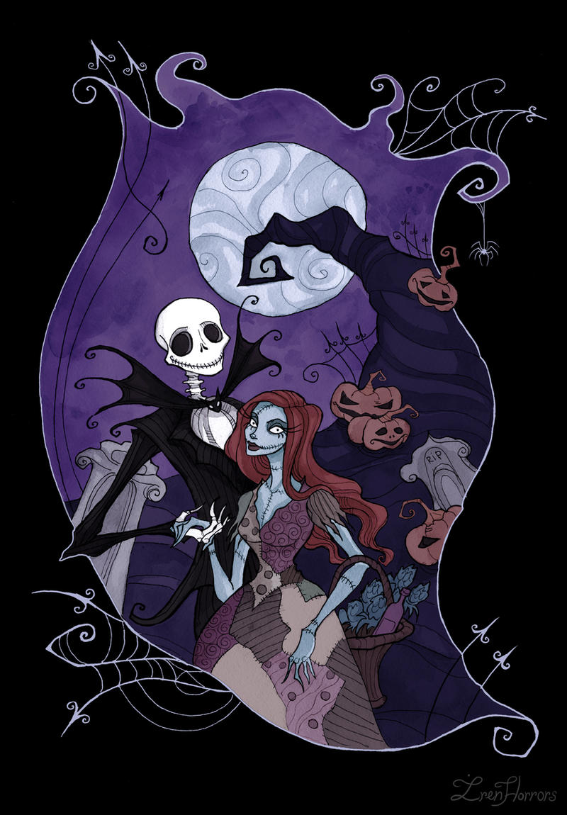 Jack and Sally by IrenHorrors on DeviantArt
