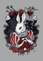 White Rabbit by IrenHorrors