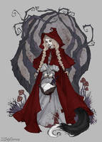 Little Red Riding Hood by IrenHorrors