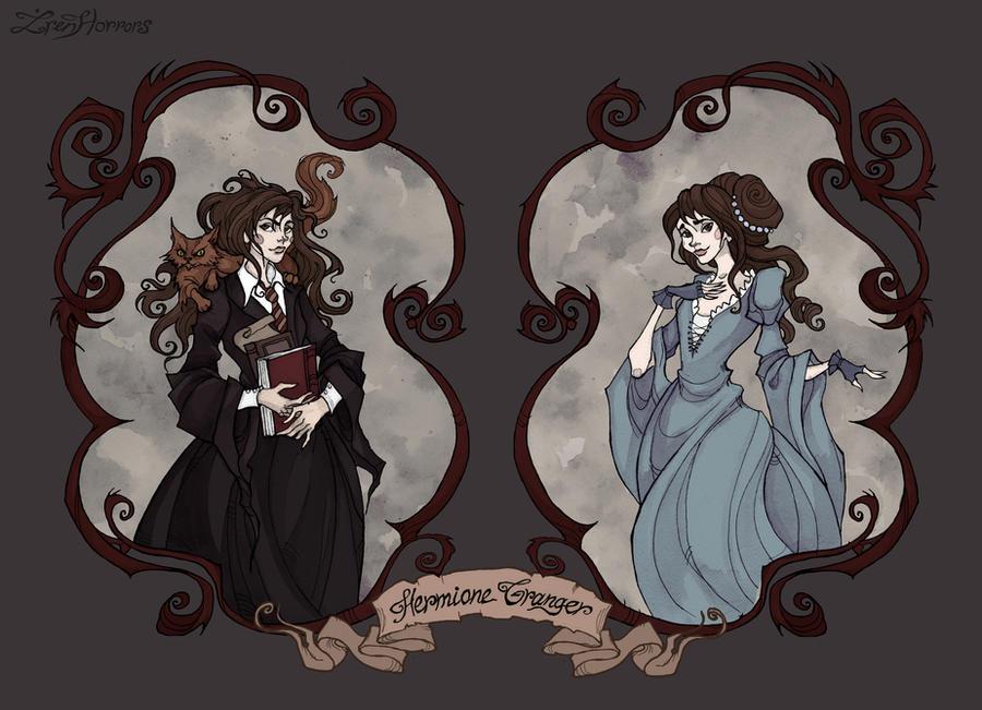 Hermione Granger by IrenHorrors