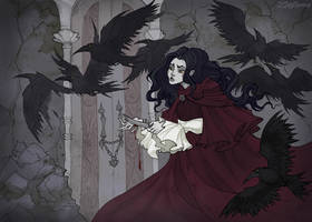 The Seven Ravens by IrenHorrors