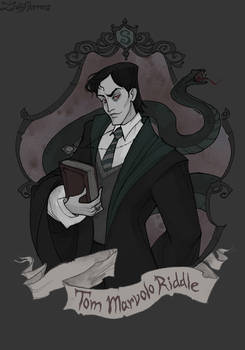 Tom Riddle by IrenHorrors