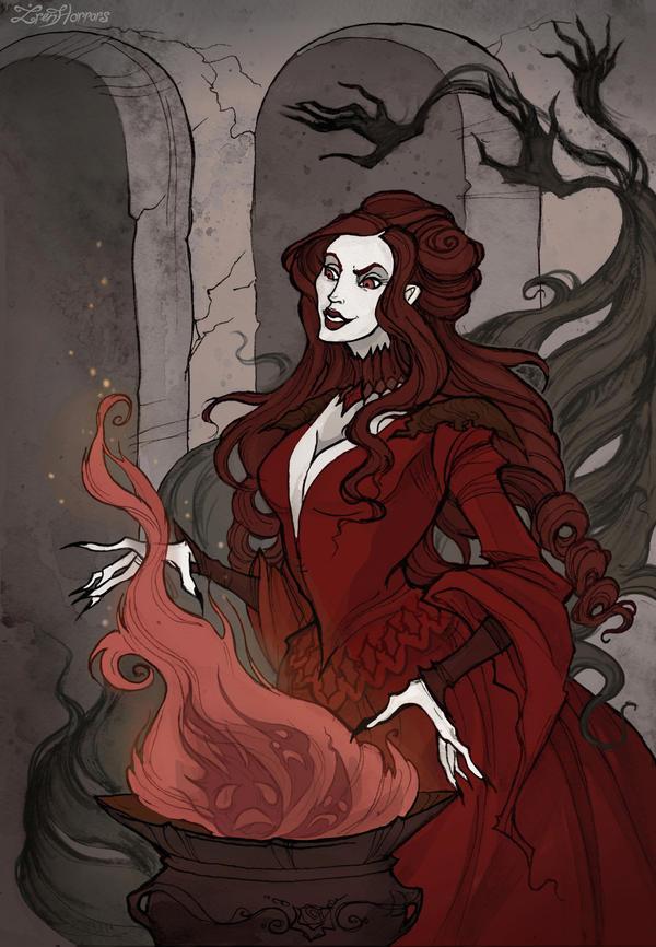 Melisandre by IrenHorrors