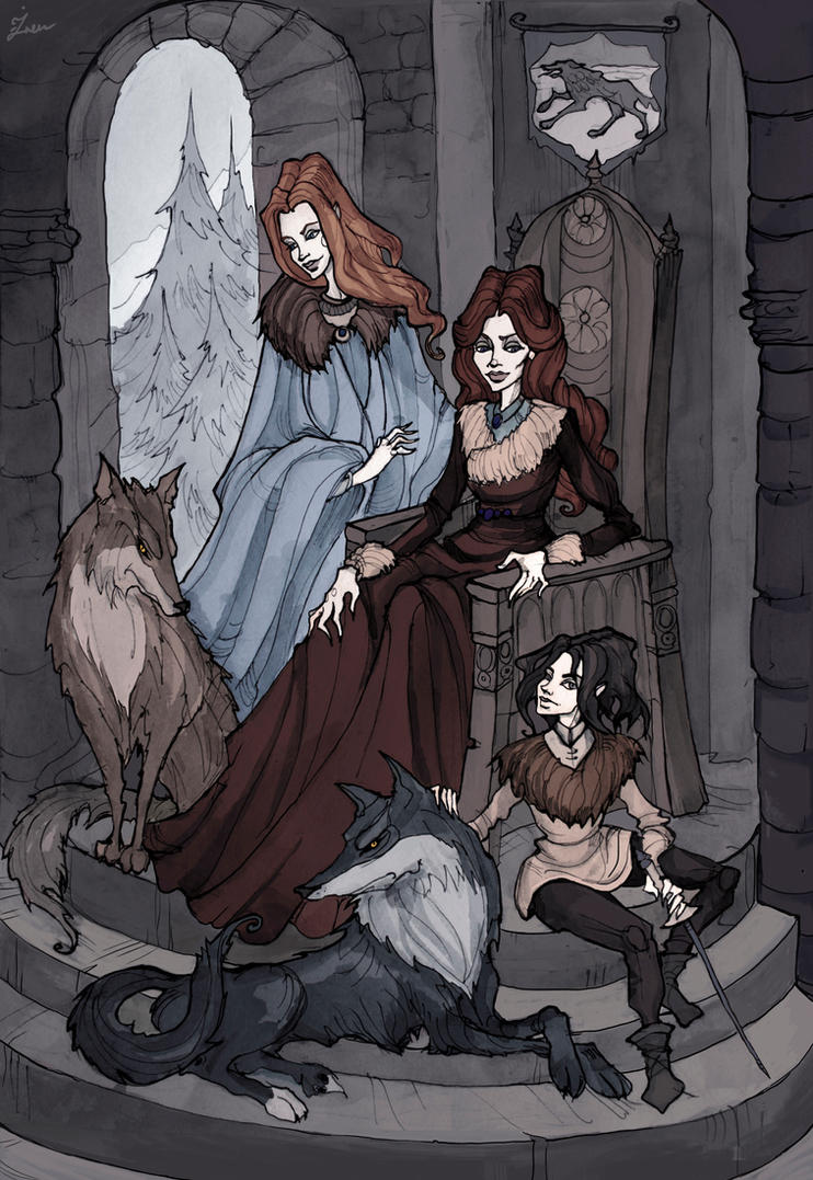 [EVERYTHING] Females of the Stark Family.