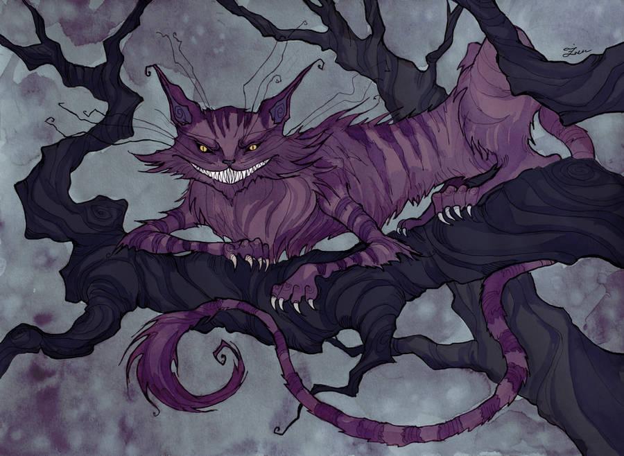 Cheshire Cat by IrenHorrors