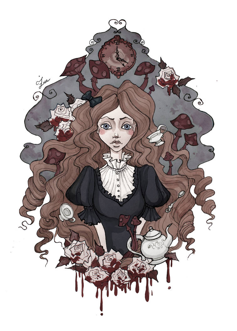 Alice Portrait by IrenHorrors