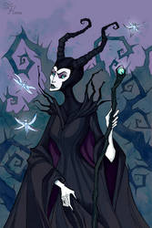 Maleficent II by IrenHorrors