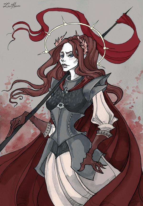 Joan Of Arc By Irenhorrors On Deviantart