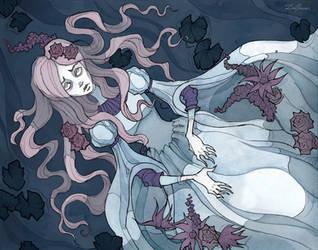 Ophelia by IrenHorrors