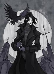 The Crow by IrenHorrors