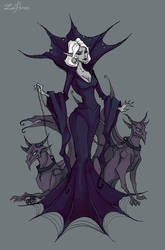 Mistress of gargoyles by IrenHorrors