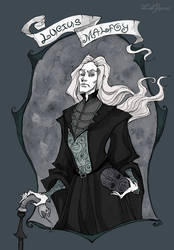Lucius Malfoy by IrenHorrors