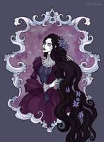 Dark Rapunzel by IrenHorrors