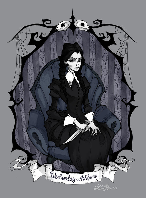 Wednesday Addams by IrenHorrors