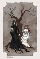 Severus and Lily by IrenHorrors