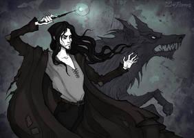Sirius Black by IrenHorrors