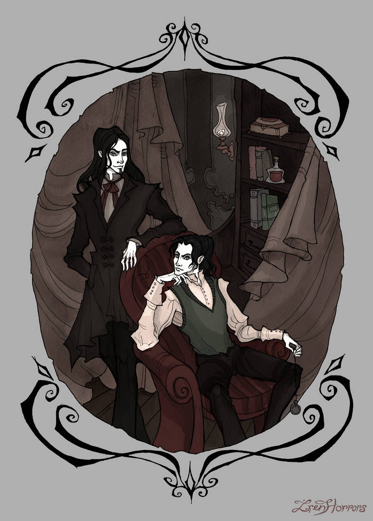 The Black Brothers by IrenHorrors